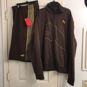 Puma jacket Shorts Set